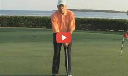 Golf Instruction - Putting Stroke : Tight = Success