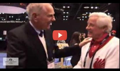 Golf 4 Millions' Jimmy Wright with Doug Sanders
